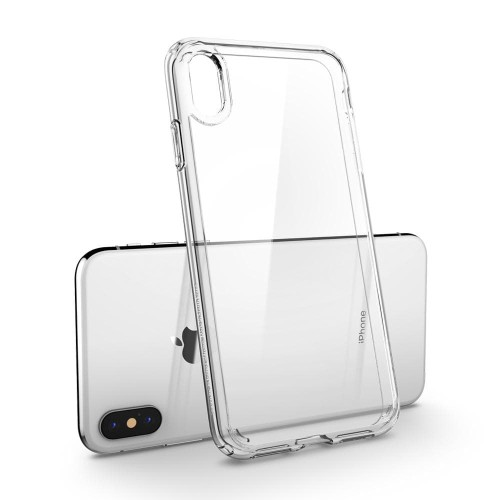 Foto Produk Spigen iPhone XS / X Case Ultra Hybrid Crystal Clear (Ver.2) (ORIGINAL dari Spigen Indonesia