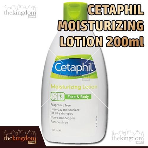Foto Produk Cetaphil Moisturizing Lotion 200ml Losion Pelembab Wajah dan Tubuh - Packing Plastik dari The Kingdom Shop