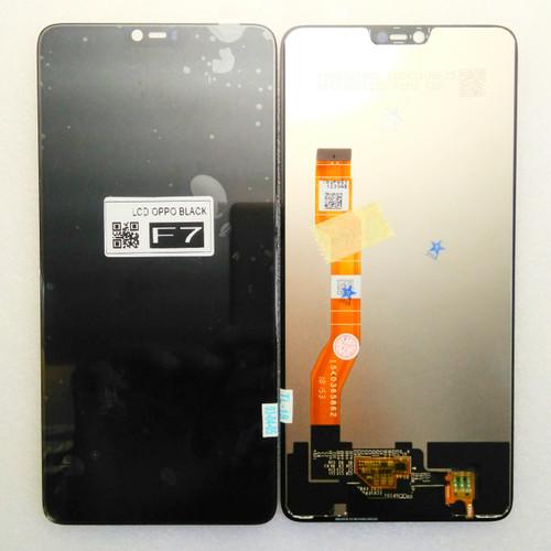 Foto Produk LCD+TS Handphone Oppo F7 [Layar LCD/ Touchscreen/ Sparepart HP] dari Selular88