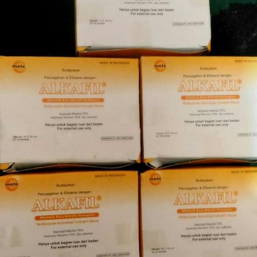 Foto Produk Alkafil kasa hidrofil dari Sindoro Medika