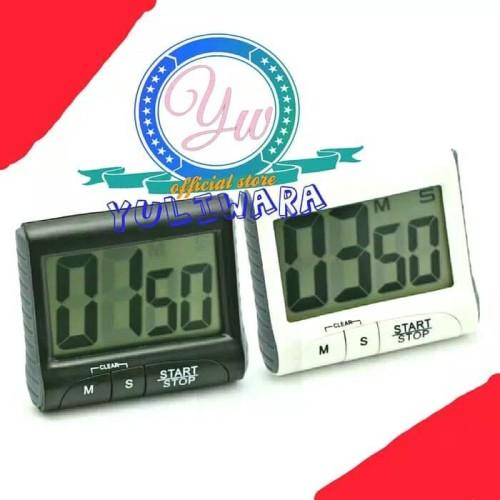 Foto Produk Timer Digital Masakan Meja Dapur Layar Besar LCD Display Alarm dari YULIWARA Olshop