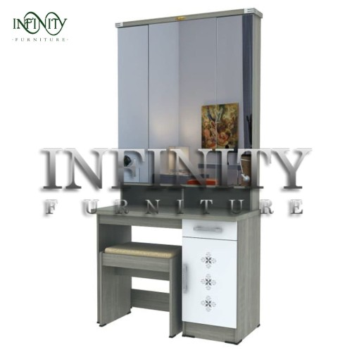 Foto Produk Meja Rias MR 04 - Grey dari Infinity Furniture