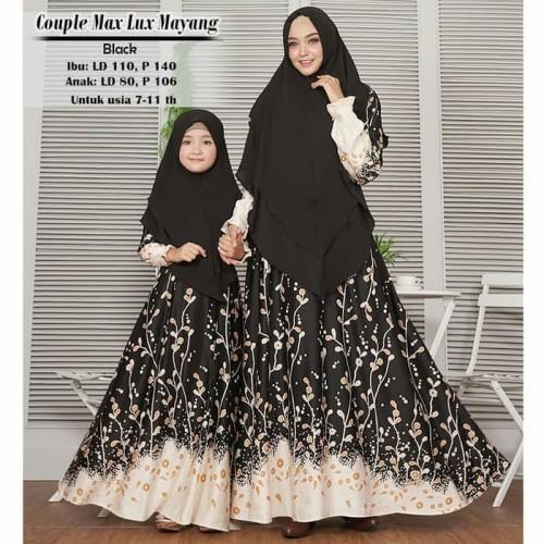Jual B64 Baju Gamis Syari Muslim Couple Ibu Dan Anak Mayangs Jakarta Pusat Gamisku Olshop Tokopedia