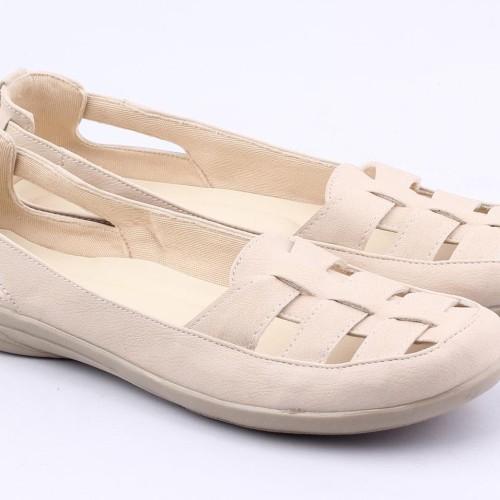 Foto Produk Sepatu Wanita Flat Shoes Cibaduyut Slip on Catenzo KS 810 dari dralapak