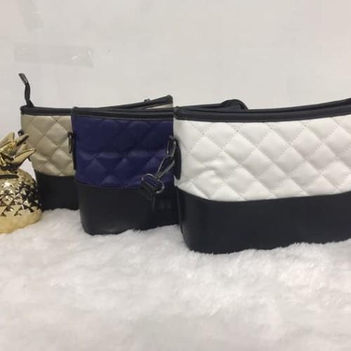Foto Produk Tas sling bag yg banyak di gunakan para artis kekinian - gold dari 4acc