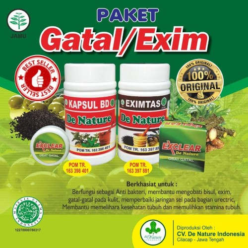 Foto Produk Obat Gatal Eksim Kering dan Basah Herbal De Nature Asli dari De Nature Official Store