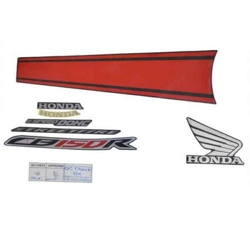 Foto Produk Stripe Set R Black Red – CB150 StreetFire (871X0K15932ZAR) dari Honda Cengkareng