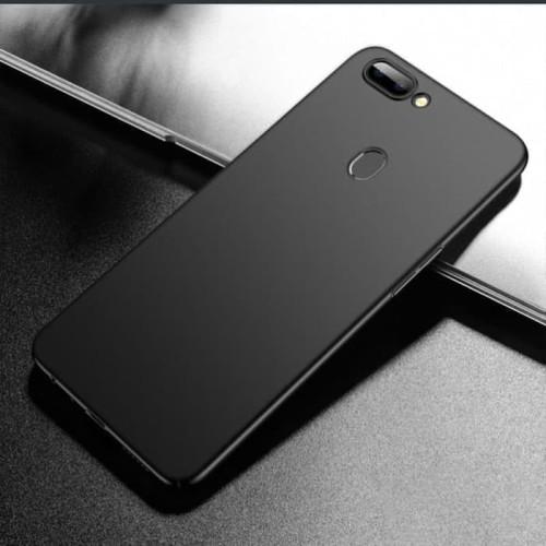 Foto Produk Slim Black Matte Case Oppo F9 F7 F5 F3 F1s - Hitam dari factory acc