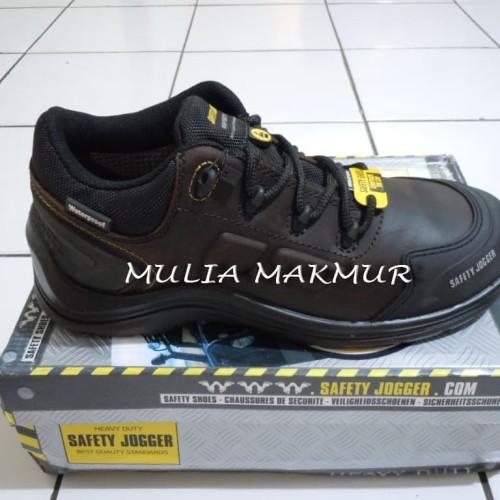 Foto Produk Sepatu Safety Jogger LAVA S3 Dark Brown dari Mulia Komputer