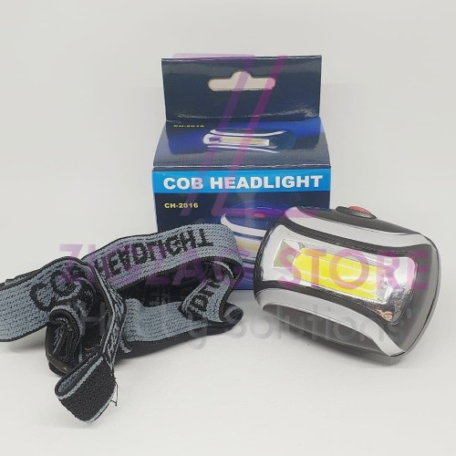 Foto Produk Headlamp Flashlight Waterproof (Senter Kepala Anti Air) dari ZigZag-Store