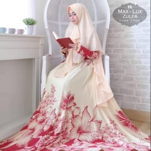 Foto Produk Baju Muslim Gamis Syari Pesta Wanita Maxmara Lux Zulfa Terbaru dari BIKI PROJECT