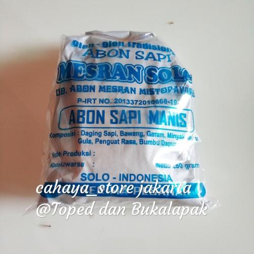 Foto Produk Abon Sapi Manis Mesran Solo Original dari cahayastore Jakarta