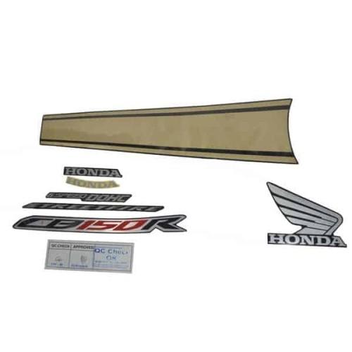Foto Produk Sticker Body (Stripe Set) R Black (871X0K15932ZBR) dari Honda Cengkareng