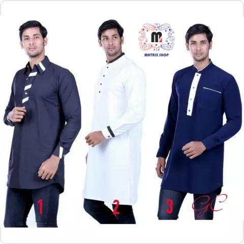 Foto Produk Gamis Pria Mode India - Busana Muslim Pria - Baju Kurta Pria dari Matrix Store Official