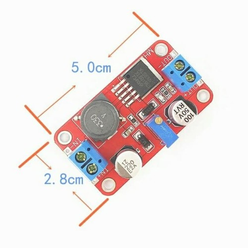 Foto Produk KR20204 XL6019 DC Step Up Power Supply Module (In 3~35V, 5A 180KHz) dari KlinikRobot