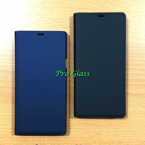 Foto Produk Samsung Note 9 Premium Leather Flip Case Cover Leather Standing View dari Pro Glass