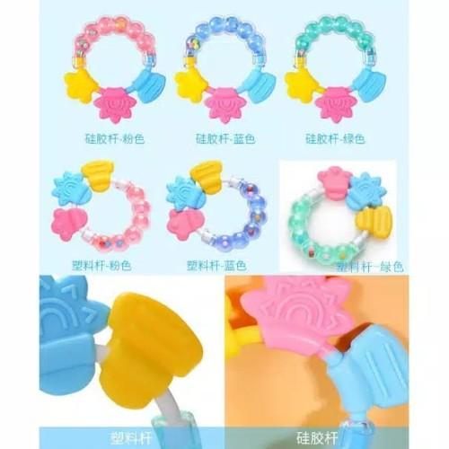 Foto Produk Mainan gigitan bayi kerincing / baby teether toys dari BABYKU WHOLESALER