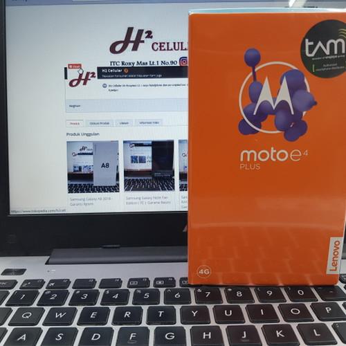 Foto Produk Motorola Moto e4 Plus XT1770 - Garansi Resmi dari debu suci