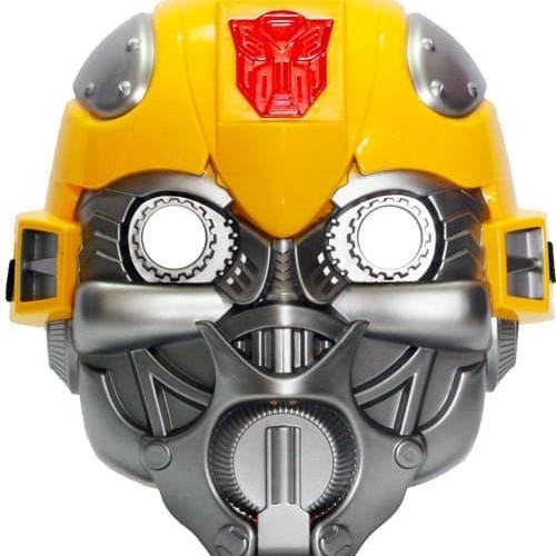 Foto Produk Topeng Bumble Bee Nyala Lampu & Suara BumbleBee Transformer dari Apan Store