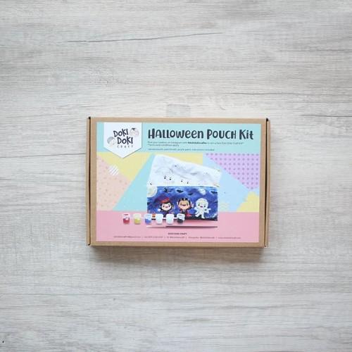 Foto Produk Doki Doki Halloween Pouch Painting Craft Kit - DIY - Kerajinan tangan dari Doki Doki Craft