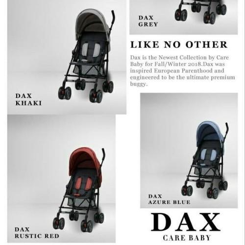 Foto Produk Stroller DAX Care FW18 Collection Kereta Bayi Buggy - Merah dari Boss Baby Store