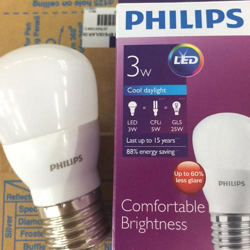 Foto Produk Lampu LED Bulb PHILIPS 3W dari Natz