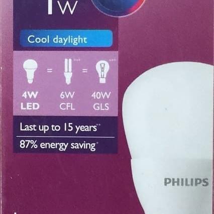 Foto Produk Lampu LED Bulb PHILIPS 4W dari Natz