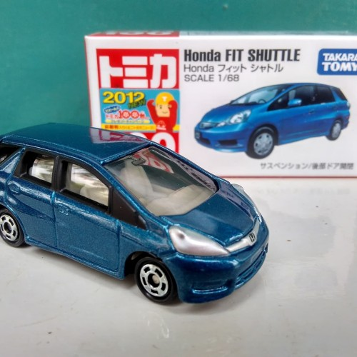 Foto Produk Honda Fit Shuttle Jazz Tomica reguler No 100 Diecast mobil harga murah dari Lukman'Store