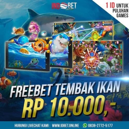 Jual Chip Gratis 10 Ribu Permainan Tembak Ikan Jakarta Barat Idbet Online Tokopedia
