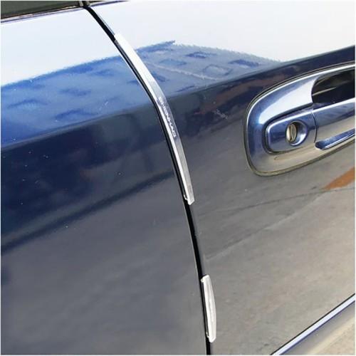 Foto Produk Pelindung Pintu Mobil Slim Door Guard Protector Universal 8 pcs HT-001 - Putih dari lbagstore