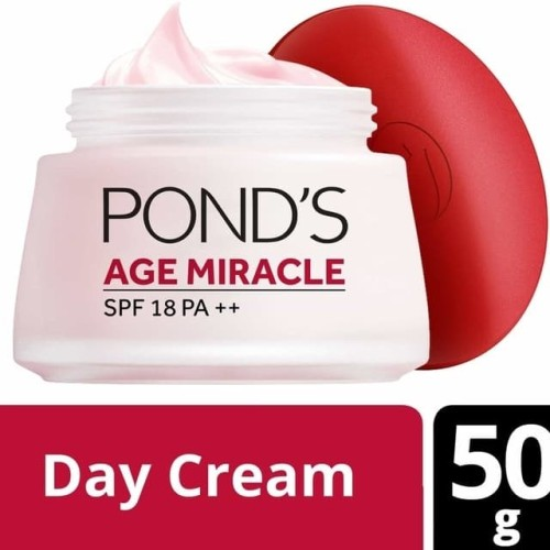Foto Produk Ponds age miracle day cream 50 gr / pond's age miracle day cream - kemasan baru dari lukenfriends