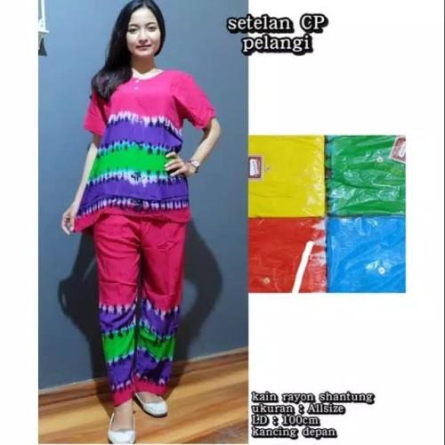 Foto Produk Daster Setelan CP Vernanda Baju Tidur Busui Baju Tidur Wanita dari Brantandari Shop