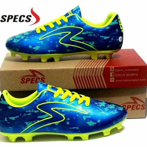 Foto Produk Sepatu Sepak Bola Specs Barricada Ultima Biru List Hijau dari WNG Store