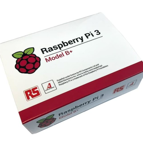 Foto Produk Raspberry Pi3 Pi 3 B+ B Plus 3B+ 64-bit Quad-core CPU 1GB RAM dari Raspberry Pi Distributor