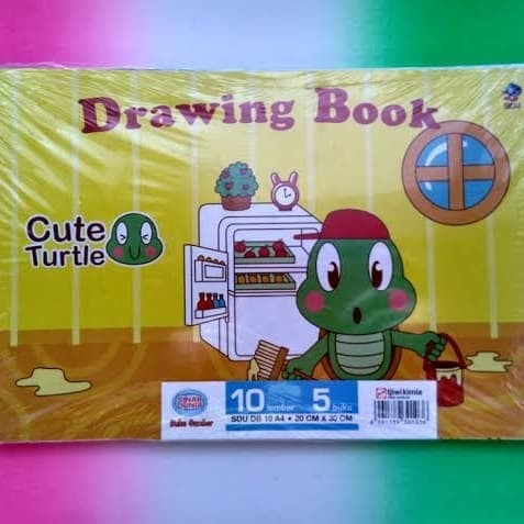 Foto Produk Buku Gambar A4 SIDU/pack dari Adisty collection