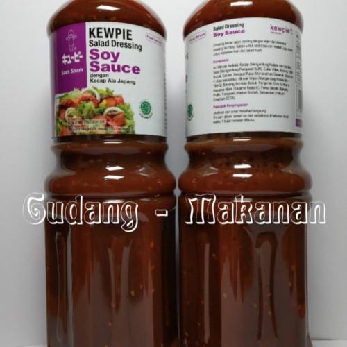 Foto Produk Kewpie Salad Dressing Soy Sauce 1 Liter dari GUDANG-MAKANAN