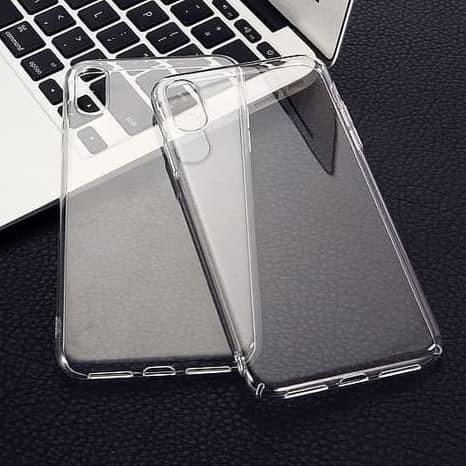 Foto Produk Silicone Iphone XR 6.1 Soft clear case casing cover bening transparan dari Rkaseshop