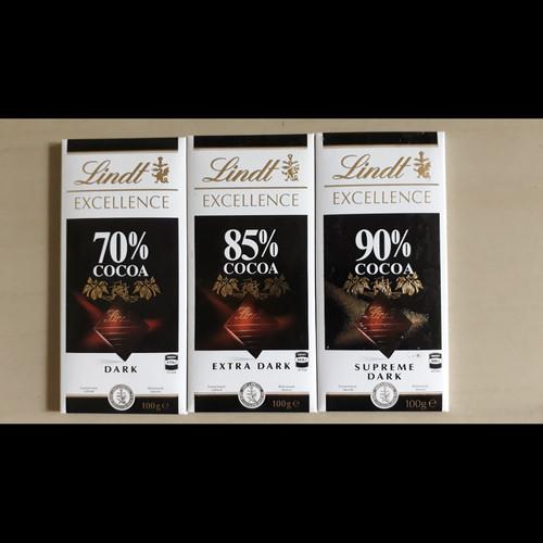 Foto Produk PROMO!! Lindt Excellence Dark Chocolate - Coklat Import - Lindt 90% dari Long San Shop