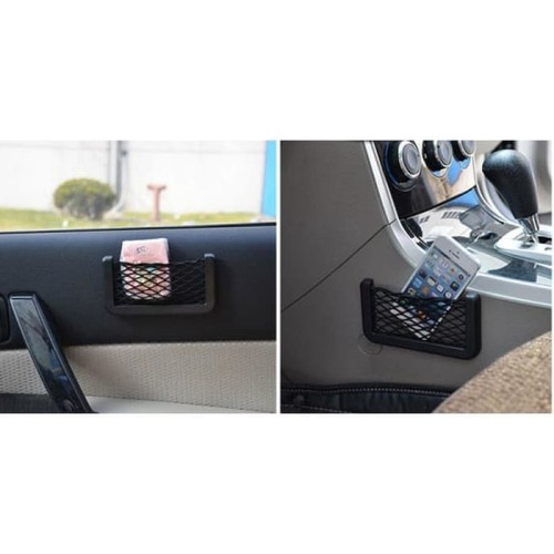 Foto Produk A91 Small Car Nett Car Organizer Car Pocket Kantong Jaring Mobil dari VnT Store
