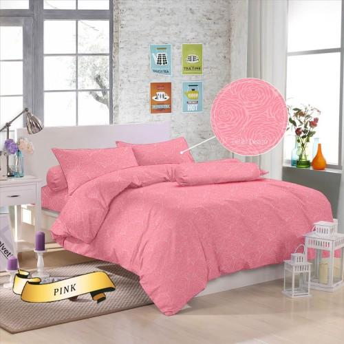 Foto Produk sprei emboz polos size 115*190*25 - Pink dari Sprei _Waterproof