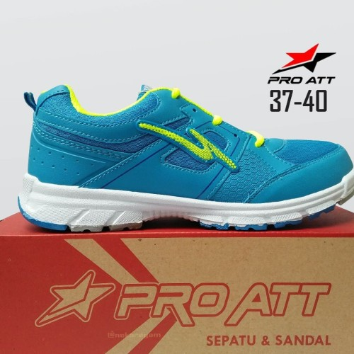 Foto Produk SEPATU PRO ATT LG 457 BIRU, SEPATU SPORT RUNNING WANITA CASUAL - Biru, 39 dari ANEKARAGAM DOT COM