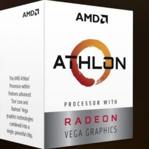 Foto Produk AMD Athlon 200GE Processor with Radeon Vega 3 Graphics dari distributorkomputer