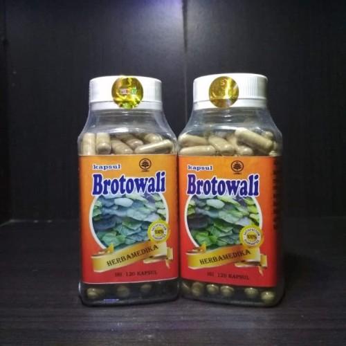 Foto Produk KAPSUL BROTOWALI ISI 120 UNTUK REMATIK DAN ENCOK dari Lapak Herbal Original