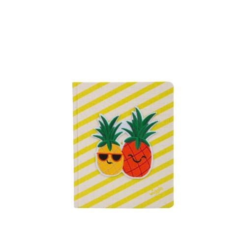 Foto Produk Wigglo Notebook Canvas Pineapple Yellow dari Wigglo Indonesia