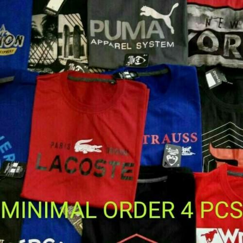 Foto Produk Grosir Kaos Distro Super Murah Min 4 Pcs (Size XL) dari Grosir Kaos Bandung