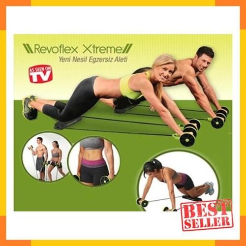 Foto Produk REVOFLEX XTREME /Alat Olahraga fITNES Gym Rumah #TERMURAH! dari july46OLshop