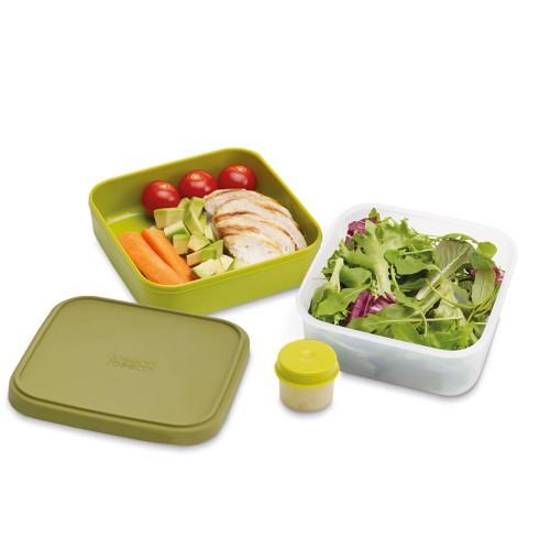 Foto Produk GoEat Compact 3-in-1 salad box - Green dari Joseph Joseph Indonesia