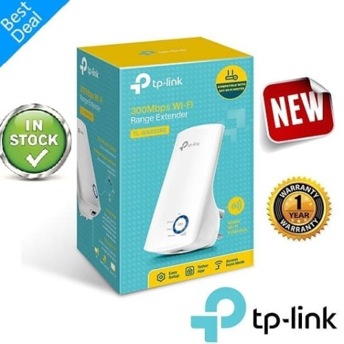 Foto Produk TP-LINK TL-WA850RE Wireless Extender Penguat sinyal Repeater TPLINK dari 24hour