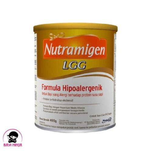 Foto Produk NUTRAMIGEN LGG Susu Formula Hipoalergenik Alergi Susu Sapi 400 g dari BAYININJA
