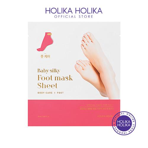 Foto Produk Holika Holika Baby Silky Foot Mask Sheet dari Holika Holika Indonesia